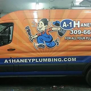 Nice van wrap for A1 Haney @central_image_wraps & bloomington_car_wraps
