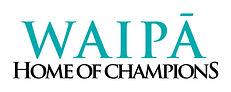 22178 Waipa Home of Champions Logo with