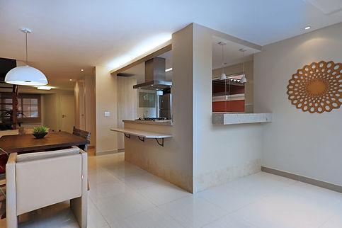 Cozinha e sala de jantar integradas - Decora Arquitetura