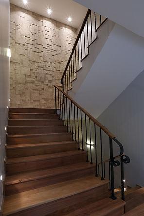 Escada hall residência LHR - Decora Arquitetura
