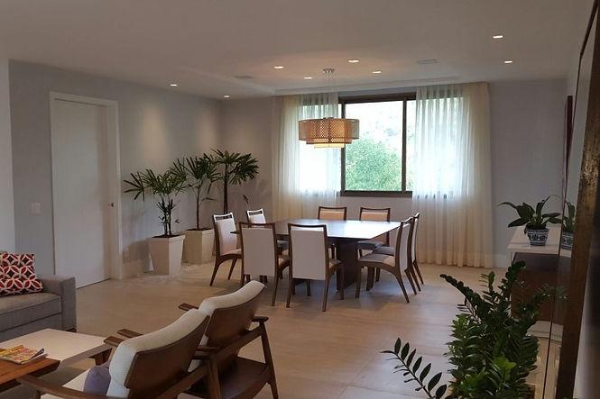 Sala estar e jantar residência LHR - Decora Arquitetura