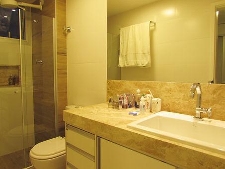 Banheiro apartamento decorado - Apartamento LRCM