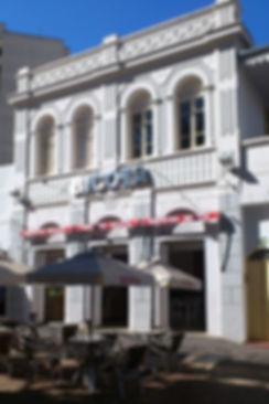 Fachada sorveteria Bicota - Decora Arquitetura