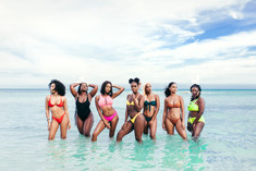 """""""The #BlackGirlsBeachToo hashtag is significant because we should be able to celebrate our bodies, or just wear a swimsuit to swim lol without being sexualized. Wearing a swimsuit on a beach shouldn't warrant sexual harrassment or derogatory labels(thot, loose, looking for man) but it does.  This hashtag at the very least gets us talking and helps to break down the stigma one conversation at a time"""" - Lulu"""
