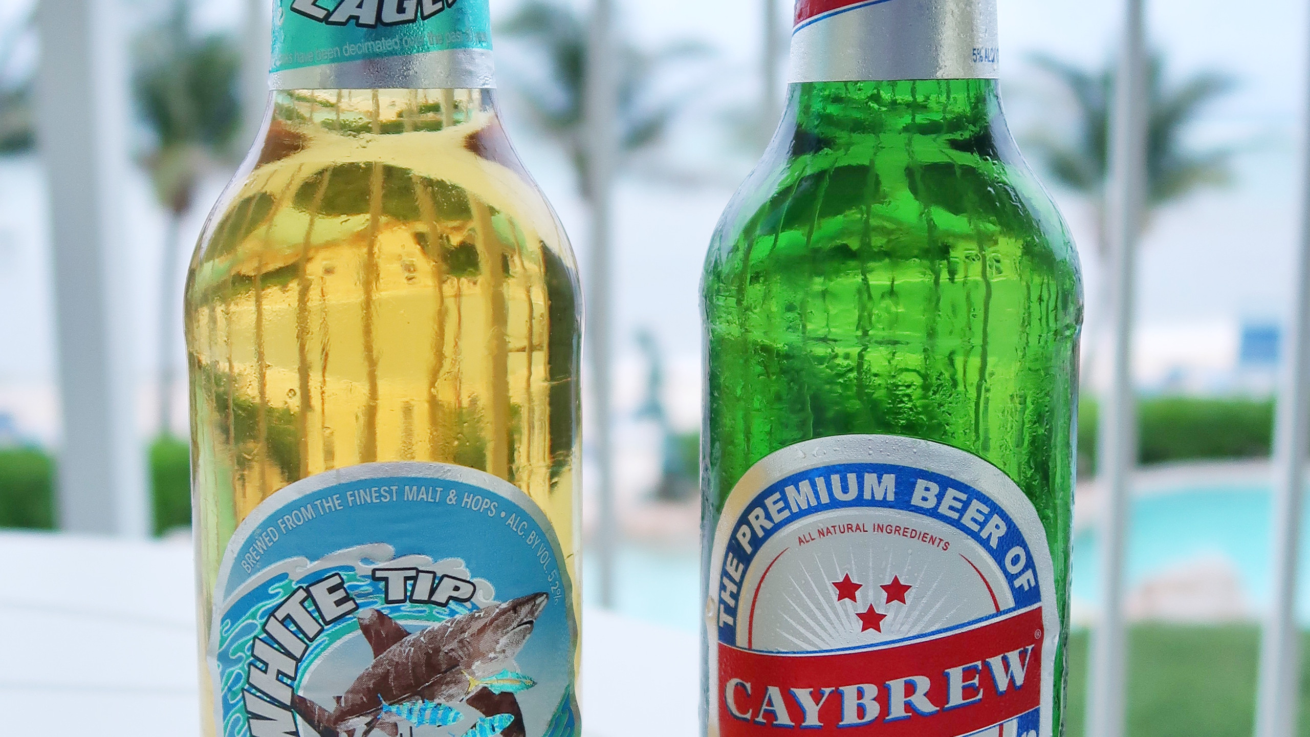 Local Caymanian Beers!