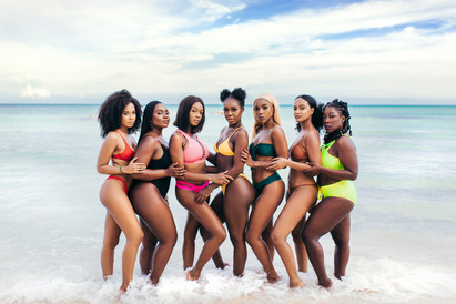 """""""Society is the biggest threat to black women being comfortable in their own skin. It has molded our minds to believe that we as black women cannot fully express ourselves without being over sexualized or criticized."""" - Natasha"""