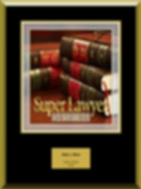 Super Lawyer 2019 plaque.JPG