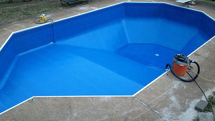 Spakle Pools, Inc. Liner Replacement Replaced