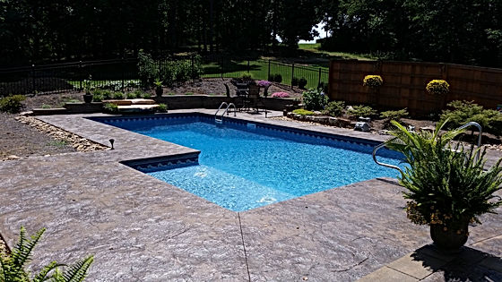Vinyl Liner Pool Construction Sparkle Pools Inc