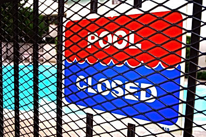 Spakle Pools, Inc. Pool Closed