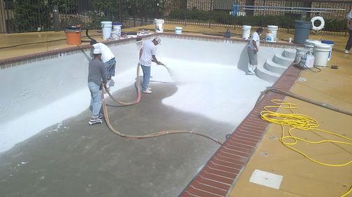 Spakle Pools, Inc. Pool Resurfacing Plaster