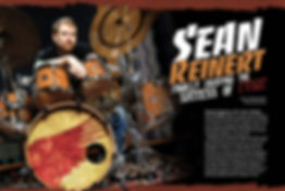 Sean Reinert of Cynic Modern Drummer Article
