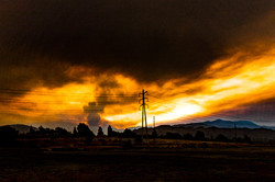 Sand Canyon Wildfire-1