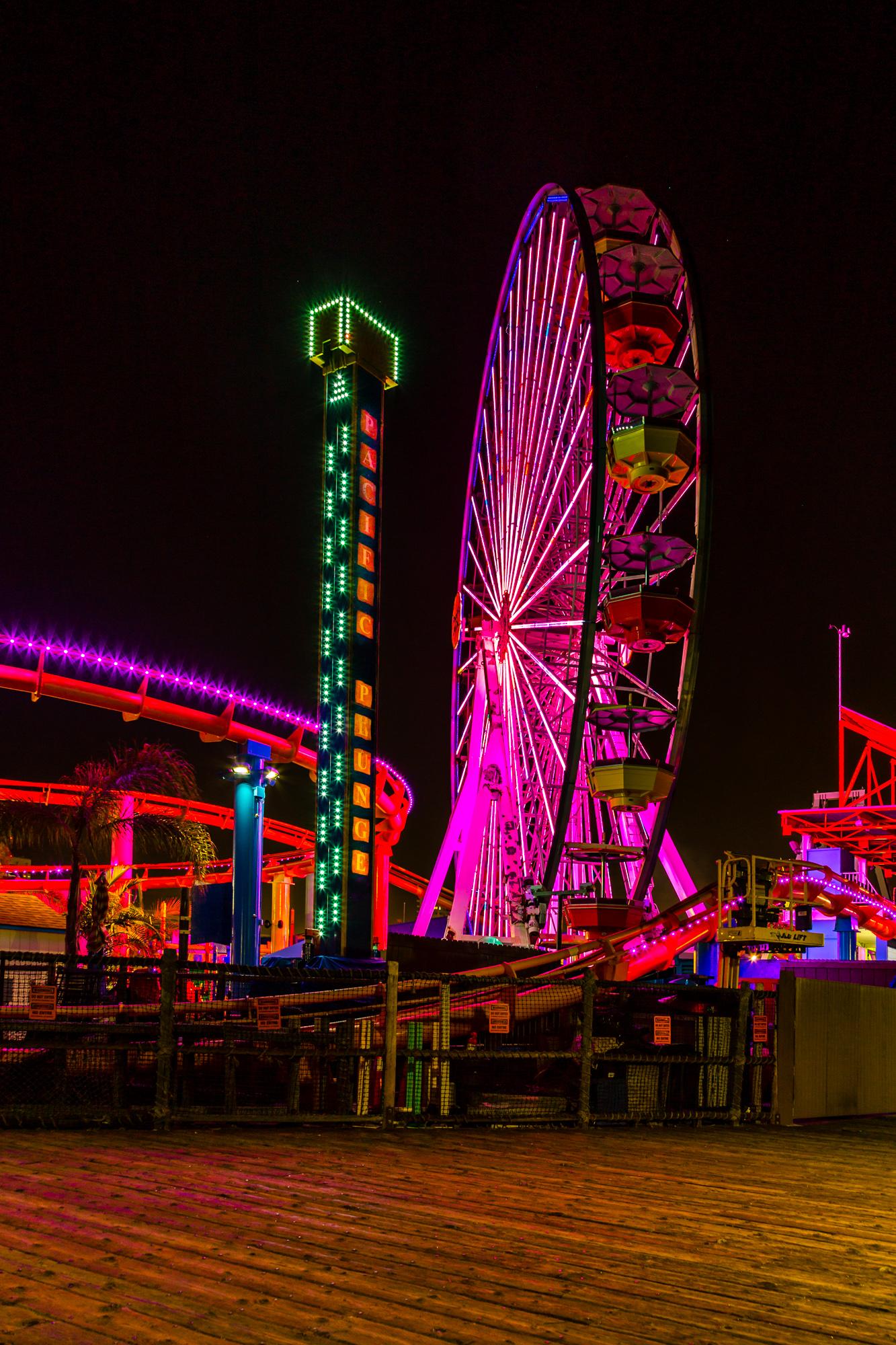 Santa Monica Pier Wheel-1