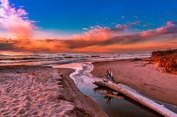 Lake Michigan Sunset-1