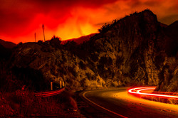 Sand Canyon Wildfire-2