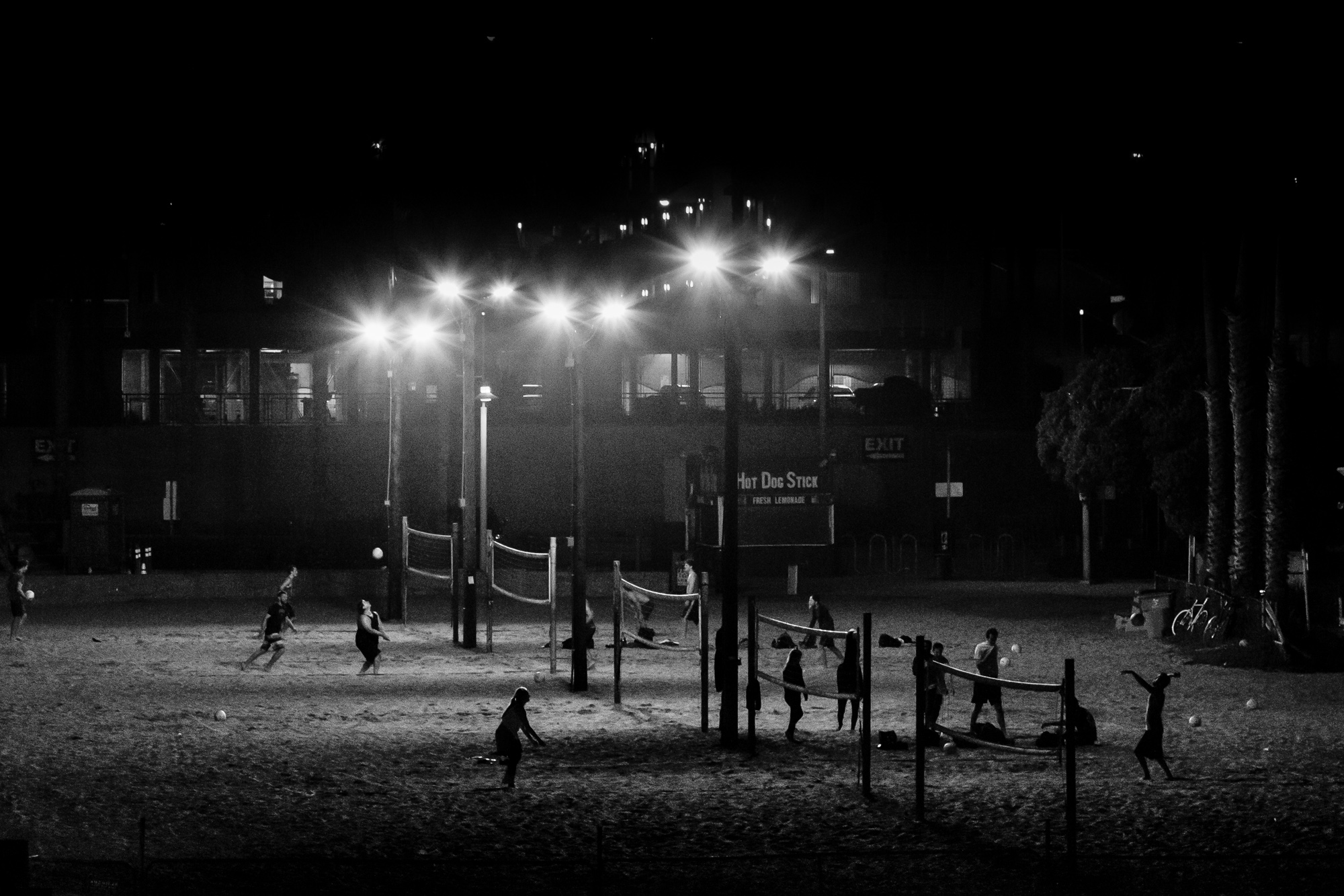Volleyball at Night-1