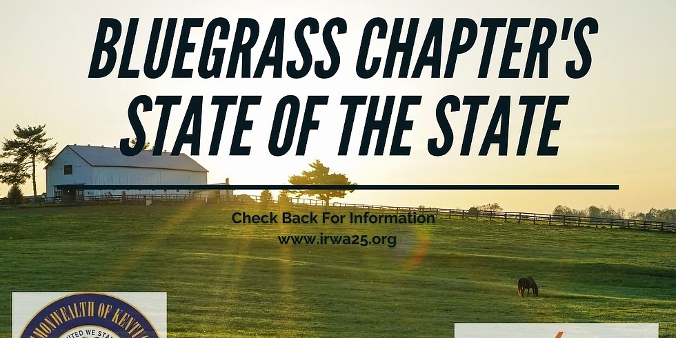 IRWA Chapter 25 State of the State