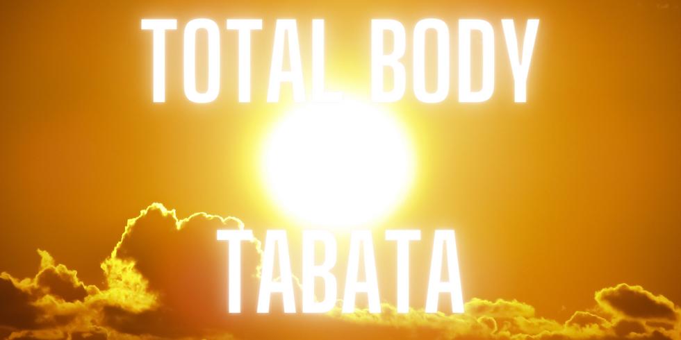45 minute Total Body Tabata Class