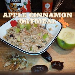 Healthy Apple Cinnamon Oatmeal