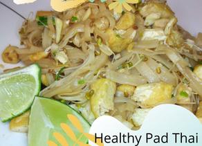 Healthy Vegetarian/Vegan Pad Thai