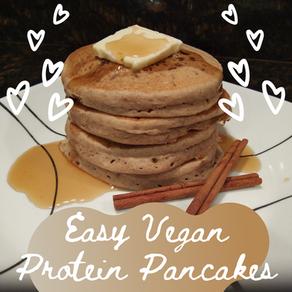 Easy Vegan Protein Pancakes