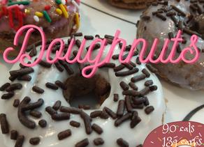 Low Fat Healthy Vegan Doughnuts