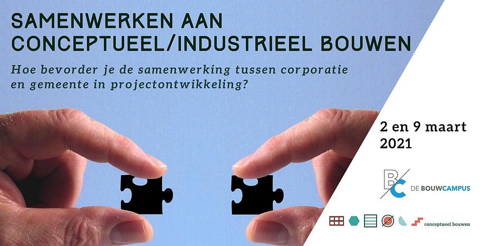 2 en 9 maart - Samenwerking aan conceptueel / industrieel bouwen