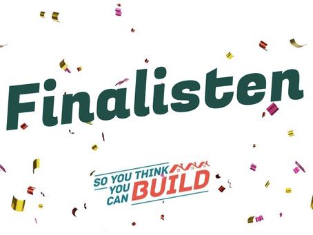 De 6 finalisten van de So you think you can BUILD challenge zijn bekend