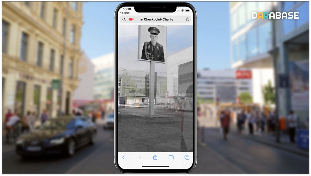 Darabase brings back 1940s Check Point Charlie on location in AR.