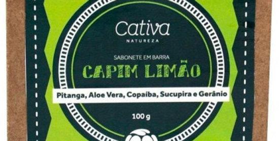 Sabonete Vegetal Capim Limão Orgânico Natural Vegano