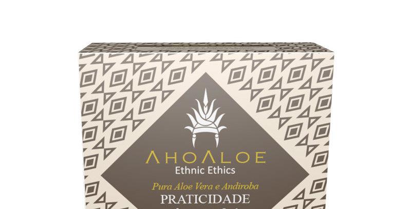 Shampoo sólido 3×1 PRATICIDADE  AhoAloe - 100g