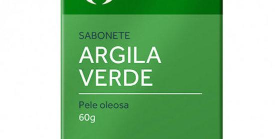 Sabonete de Argila Verde para Pele Oleosa Orgânico Natural Vegano