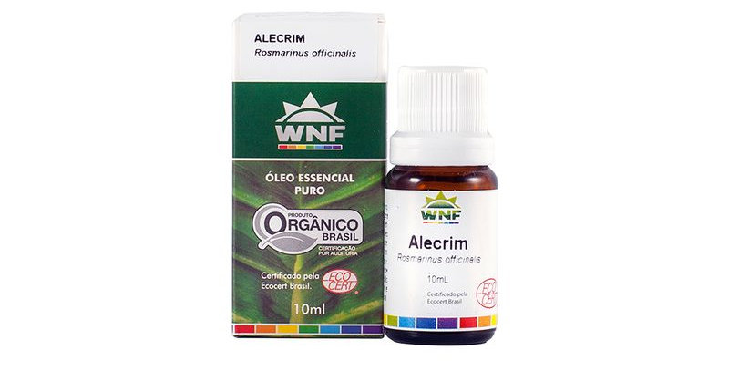 Óleo Essencial de Alecrim WNF - 10ml