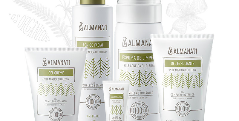 KIT REEQUILÍBRIO Anti Acne - ALMANATI