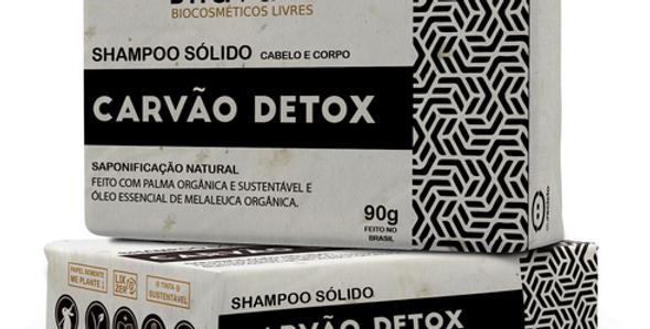 Shampoo Sólido Detox 90g - Lixo Zero
