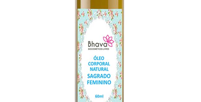 ÓLEO CORPORAL NATURAL SAGRADO FEMININO 60 ml