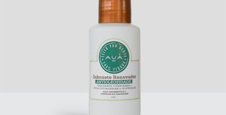 Sabonete Renovador Anti Oleosidade Auá  90ml