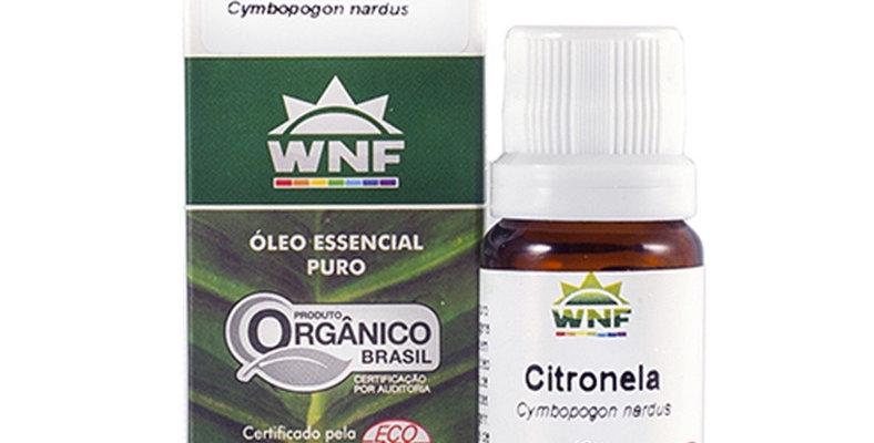 Óleo Essencial Citronela WNF - 10ml