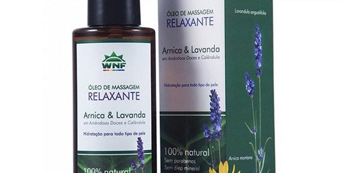 Óleo de Massagem Relaxante WNF - 120ml