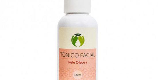 Tônico Facial para Pele Oleosa Orgânico Natural Vegano