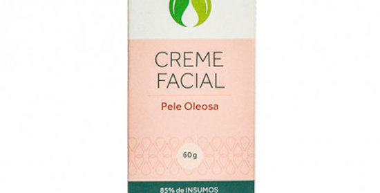 Creme Hidratante Facial Pele Oleosa Orgânico Natural Vegano