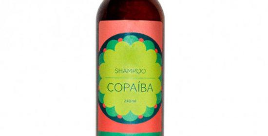 Shampoo Copaiba para Cabelos Óleosos e Anti Caspa Orgânico Natural Vegano