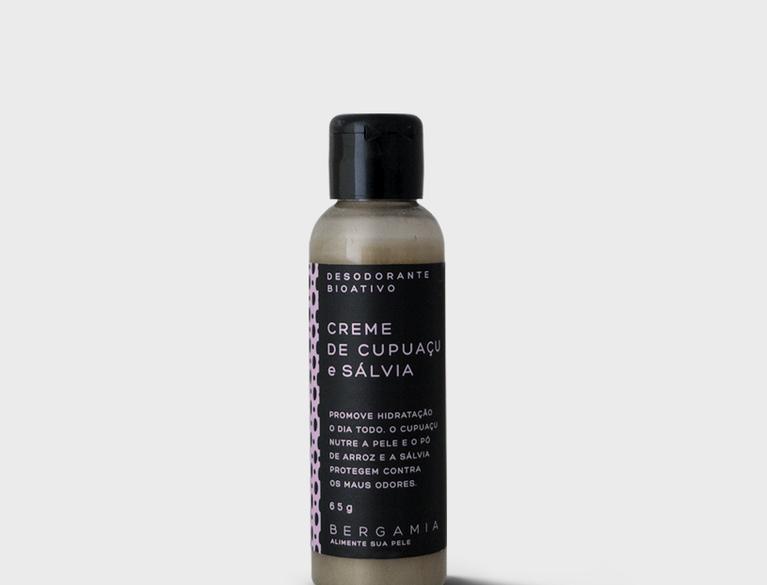 Deodorante Bioativo em creme Cupuaçu e Sálvia - 65g