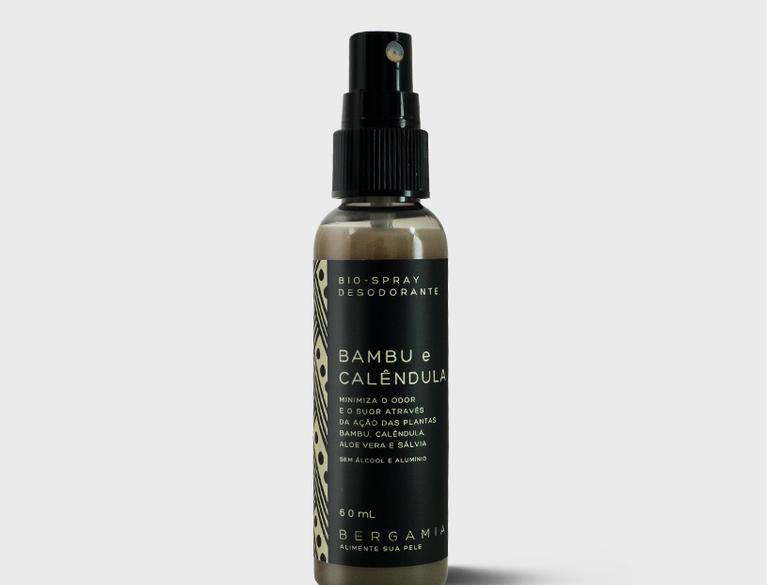 Bio-Spray Desodorante de Bambu e Calêndula - 60ml
