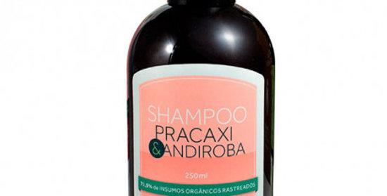 Shampoo Hidratante e Reconstrutor Pracaxi e Andiroba Natural Orgânico Vegano