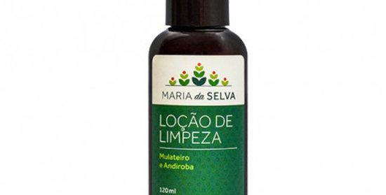 Loção de Limpeza e Demaquilante Maria da Selva Orgânica Natural Vegana