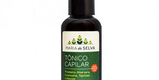 Tõnico Capilar Estimulante Fortalecedor Maria da Selva ORGÂNICO NATURAL VEGANO