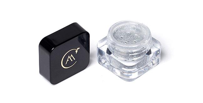 Glitter Biodegradável Vegano Silver ARIELLE MORIMOTO