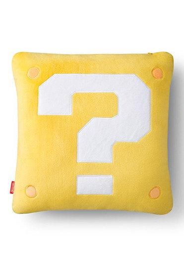 Coussin et mini-couverture(Question Block/Super Mushroom)